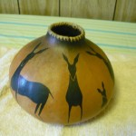 Arturo Ramirez Hand Painted Gourd (c.1989), photo 2