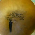 Arturo Ramirez Hand Painted Gourd (c.1989), photo 1